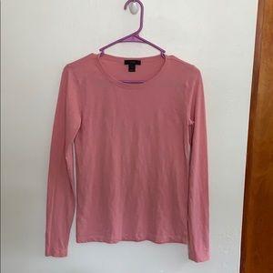 J Crew cotton long sleeve shirt